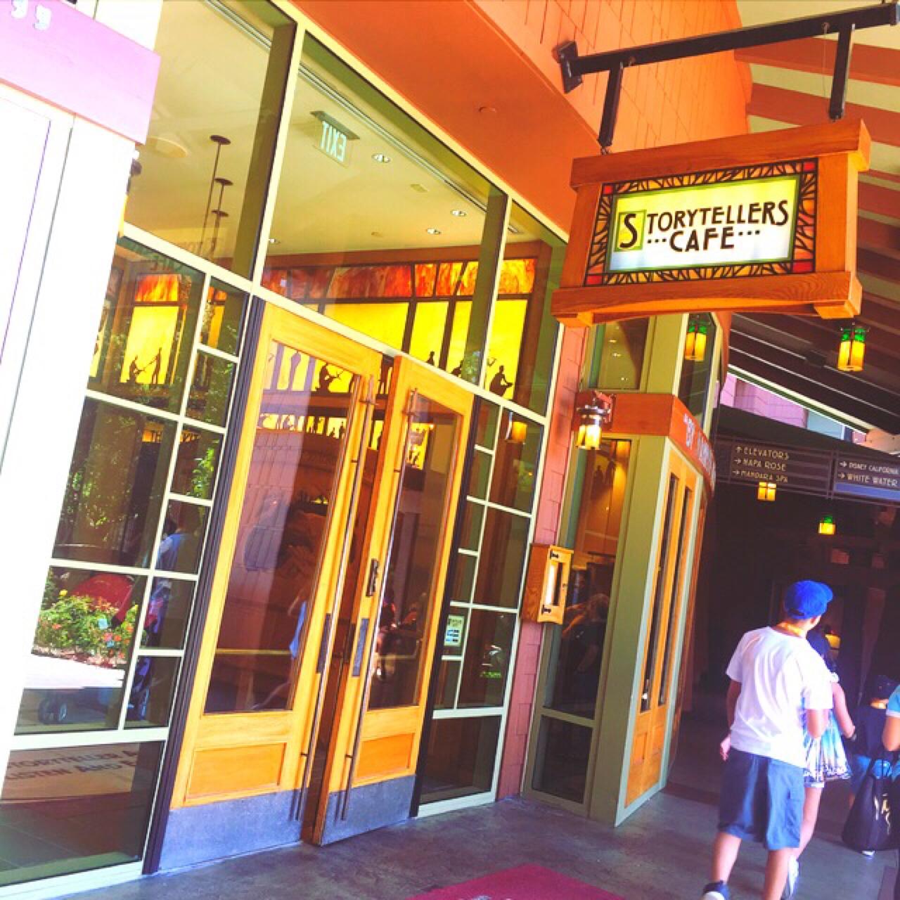 カリフォルニアディズニーパークの直結するホテル♡ 朝食はここで食べ