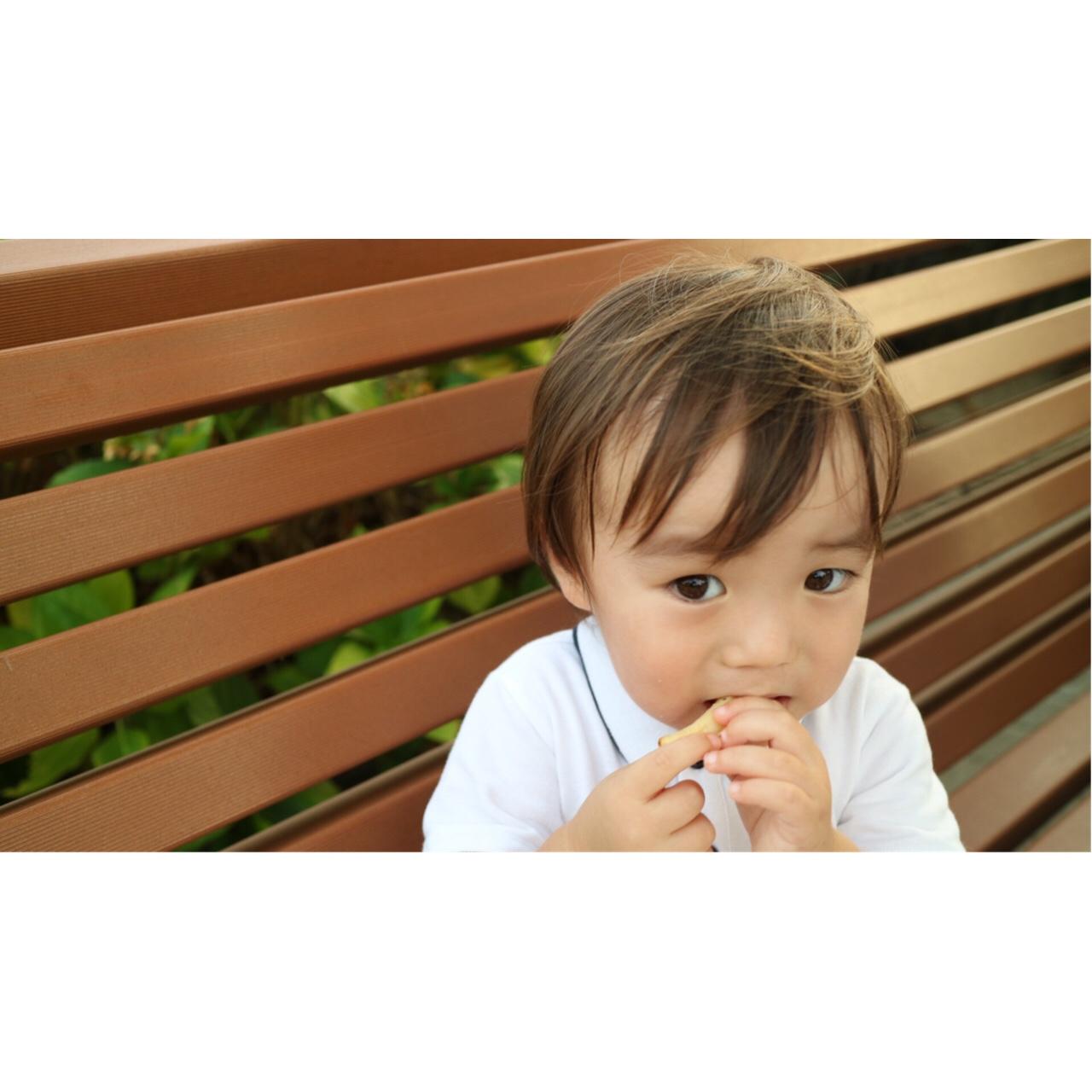 夏#ポテト#かわいい#2歳#男の子ポテトに目がない息子でした