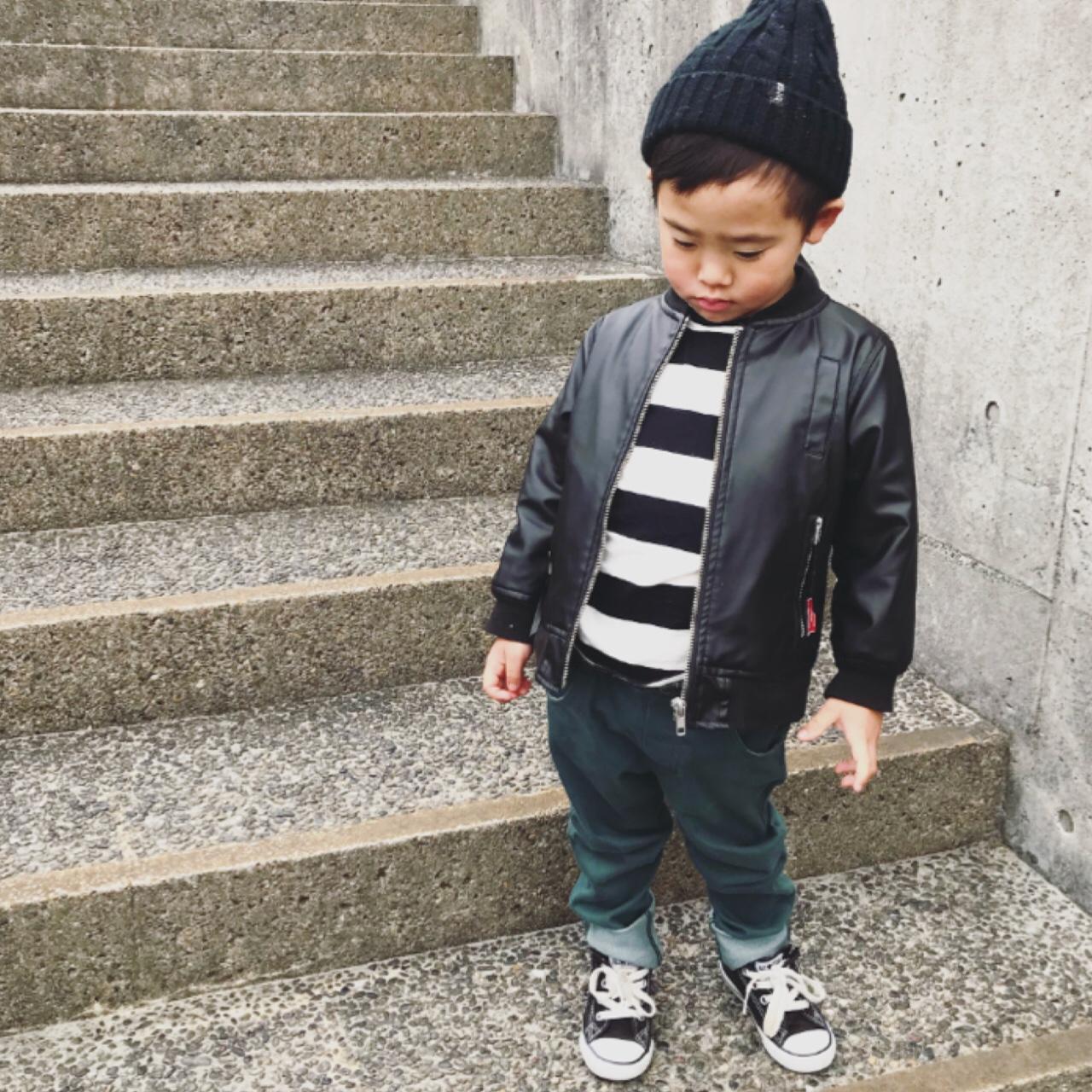 今日のコーデ ファッション 男の子コーデ リンクコーデ 着