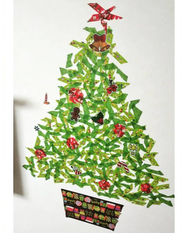 クリスマス ツリー マスキングテープ