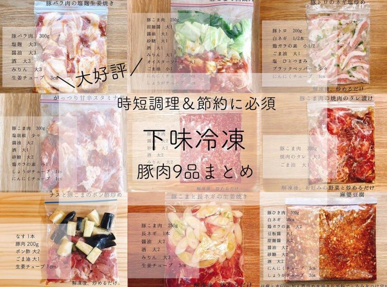 豚 こま 下味 冷凍 【豚肉の冷凍】美味しさをキープする種類別プロの保存方法。解凍テク...