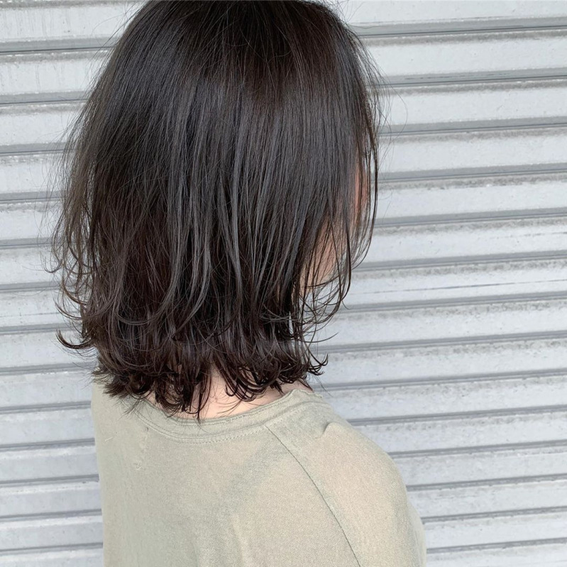 髪型 40 ボブ 代