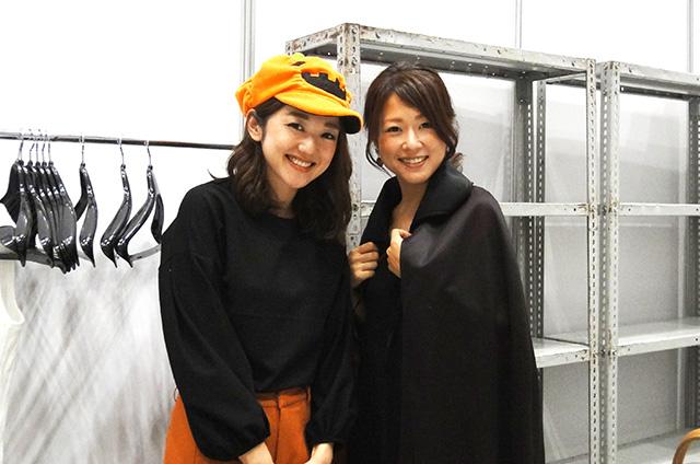 左から、坂上絢子さん、鈴木裕子さん