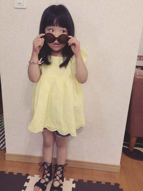 笠原樹奈ちゃん(4歳)