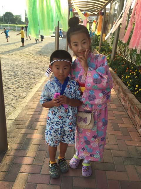 丹羽珠理ちゃん・7歳、恵大くん・5歳