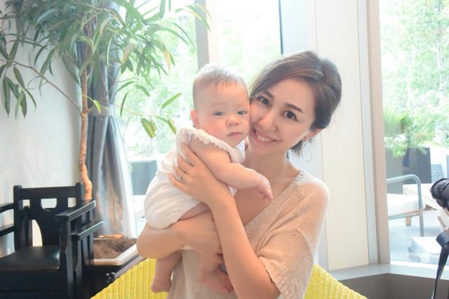 長谷川理紗さん 主婦・31歳(♂5カ月のママ)