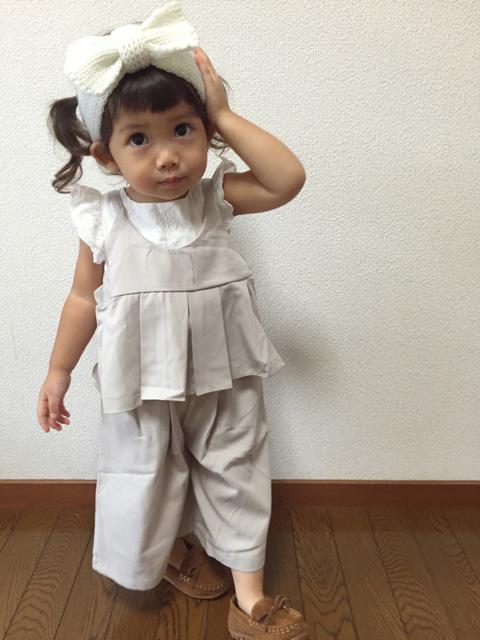 湯本柚子ちゃん・2歳