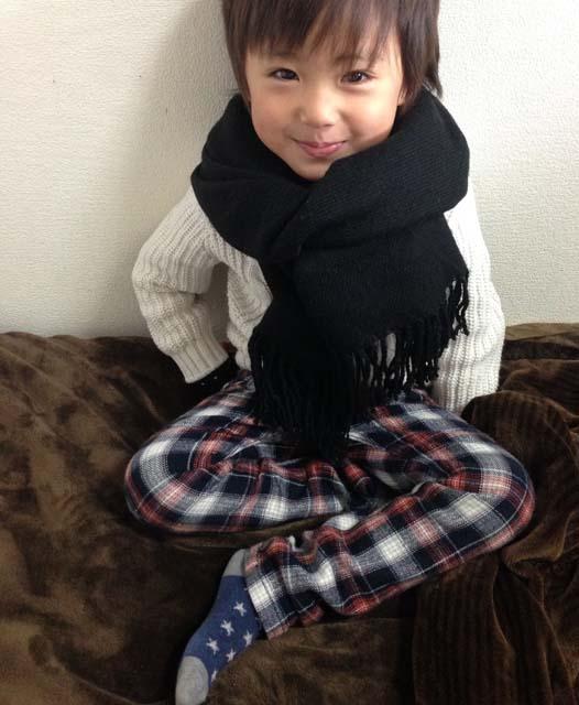藤島碧衣くん・5歳