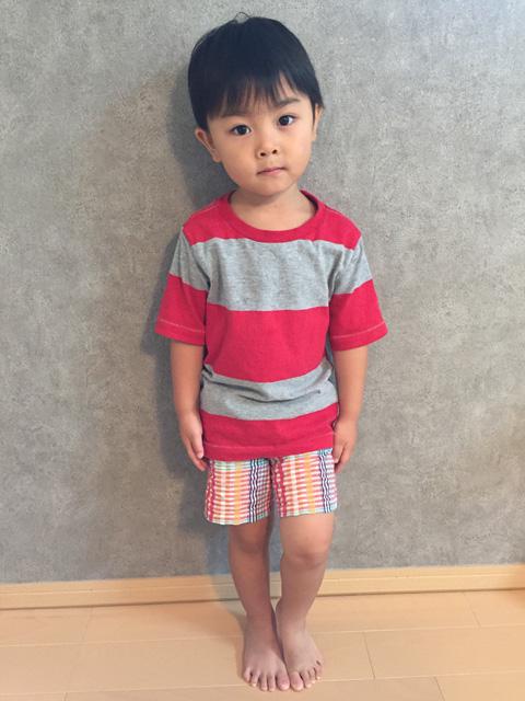 クレジット:中島優太郎くん・3歳