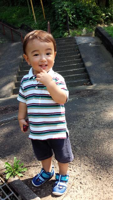 (クレジット:上茶谷諒くん・1歳)